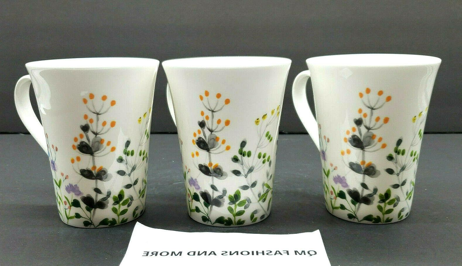 ~ Tivoli Garden Set of Mugs Cups NWT