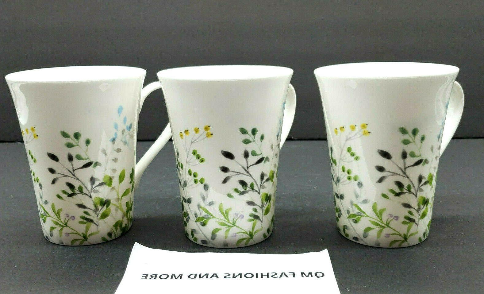 Mikasa ~ ~ Garden Set Mugs NWT