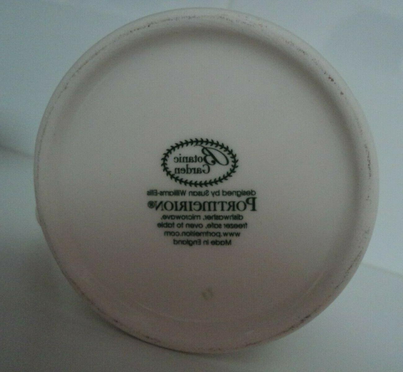Portmeirion Garden Mug- Pansy- Cup- OF NWT!