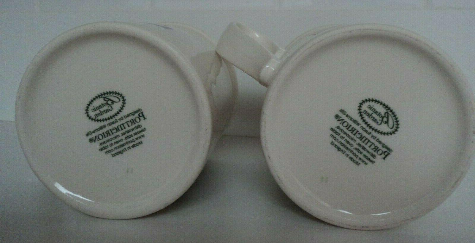 Portmeirion Mug- Pansy- Cup- SET NWT!