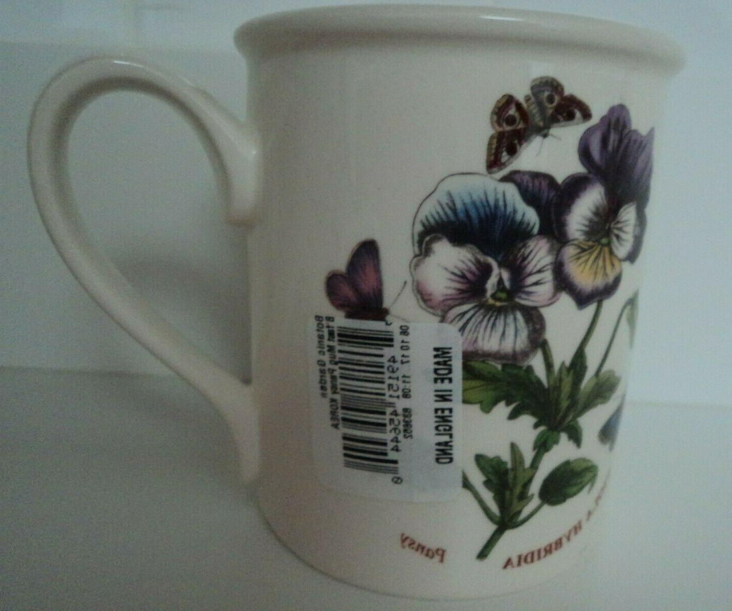 Portmeirion -Botanic Garden Mug- Cup- SET NWT!