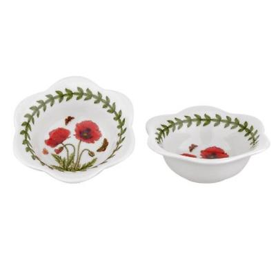 Portmeirion Botanic Garden Set of 2 Dip Bowls-Tea Lights