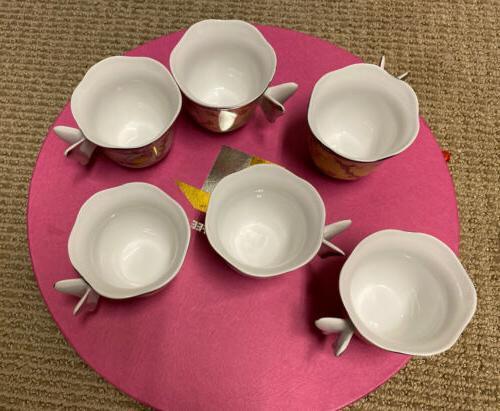 Butterfly Coffee/tea Set Of