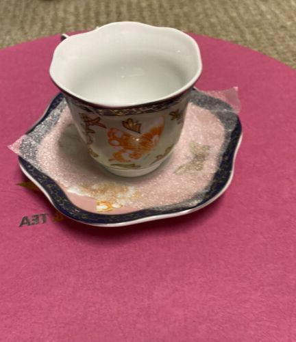 Butterfly Coffee/tea Set 6