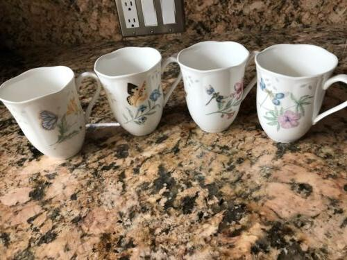 Lenox MEADOW of 4 CUPS NEW
