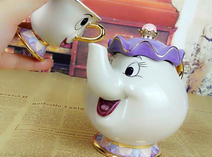 Cartoon Beast Potts Chip Pot Gift Enamel