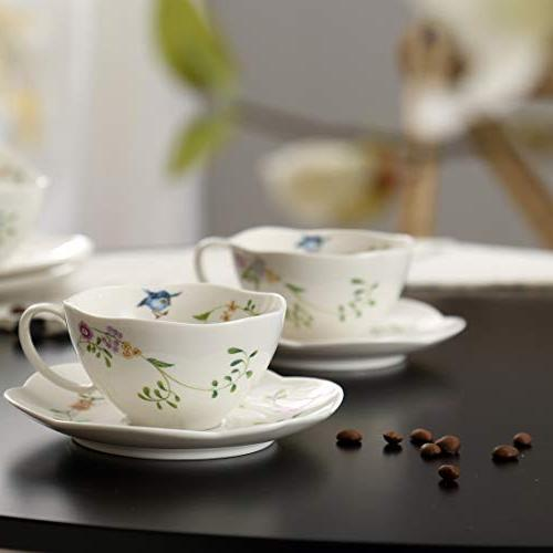 Ceramic Cup including Cup and Saucer 1 for Coffee )