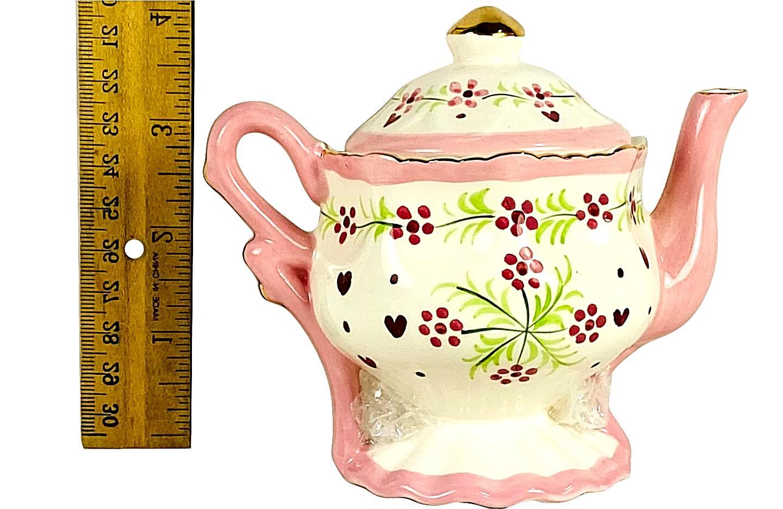 Children's Miniature Tea Set 9 Porcelain China