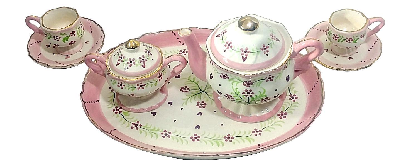 Children's Tea Set 9 China Tea Party
