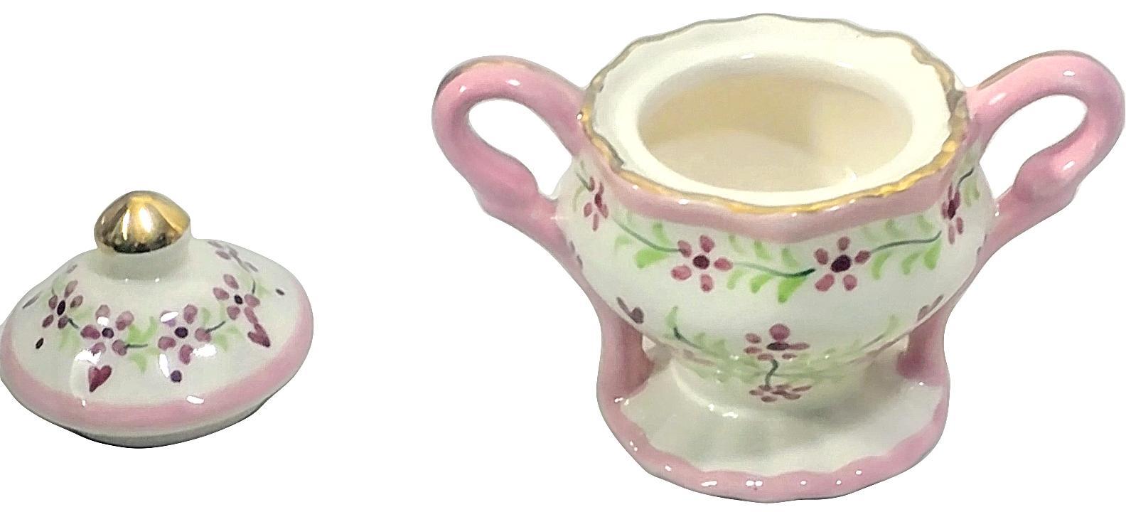 Children's Miniature 9 Piece China Tea