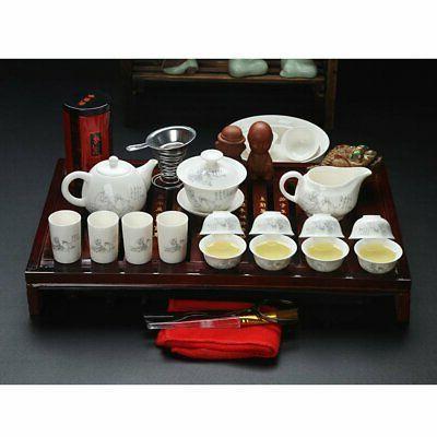 Chinese Kung Tea Tea Tray And
