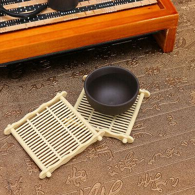 House Tea Purple Cup&Wood Tray Gift