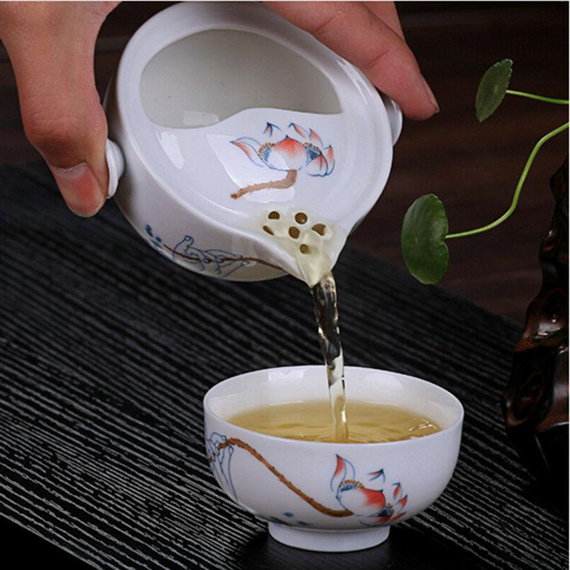 chinese traditional tea set ceramic tea pot