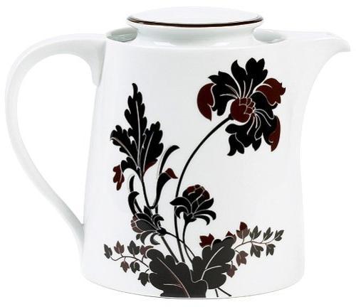 cocoa blossom tea server