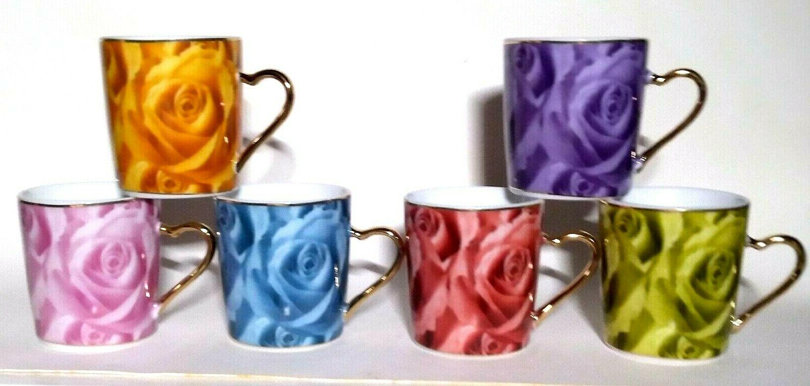 CLASSIC 12 & Saucers Floral Pattern