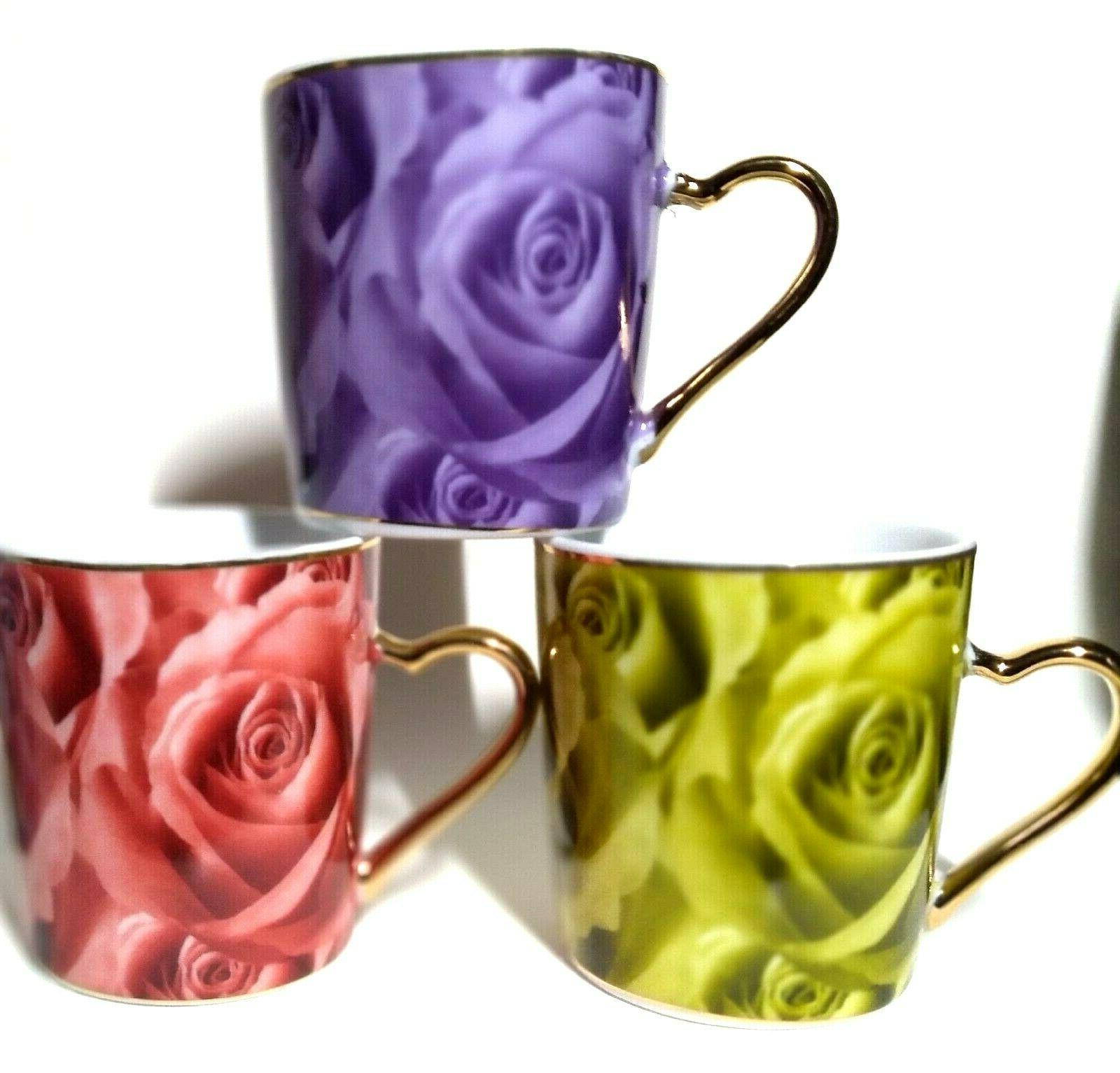 CLASSIC Coffee 12 & Saucers in Floral Pattern - NIB