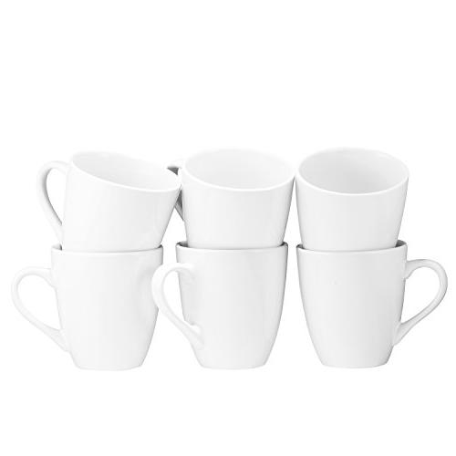 Coffee Set of 6 Ounce Coffee Restaurant Coffee Mugs Bruntmor