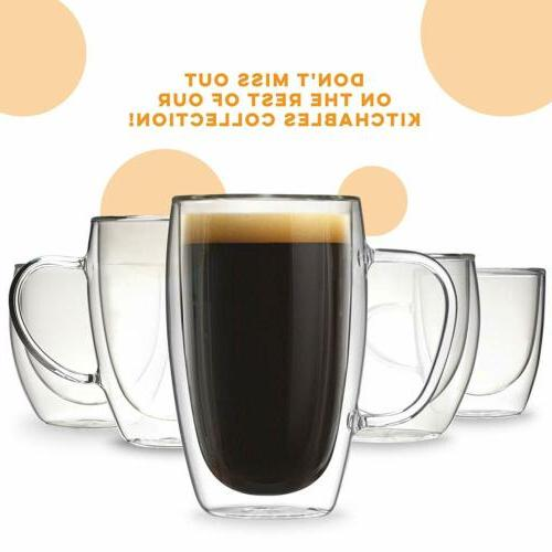 Coffee or Mugs of 2,15oz Double Cups