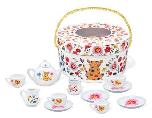 counting garden deluxe porcelain tea