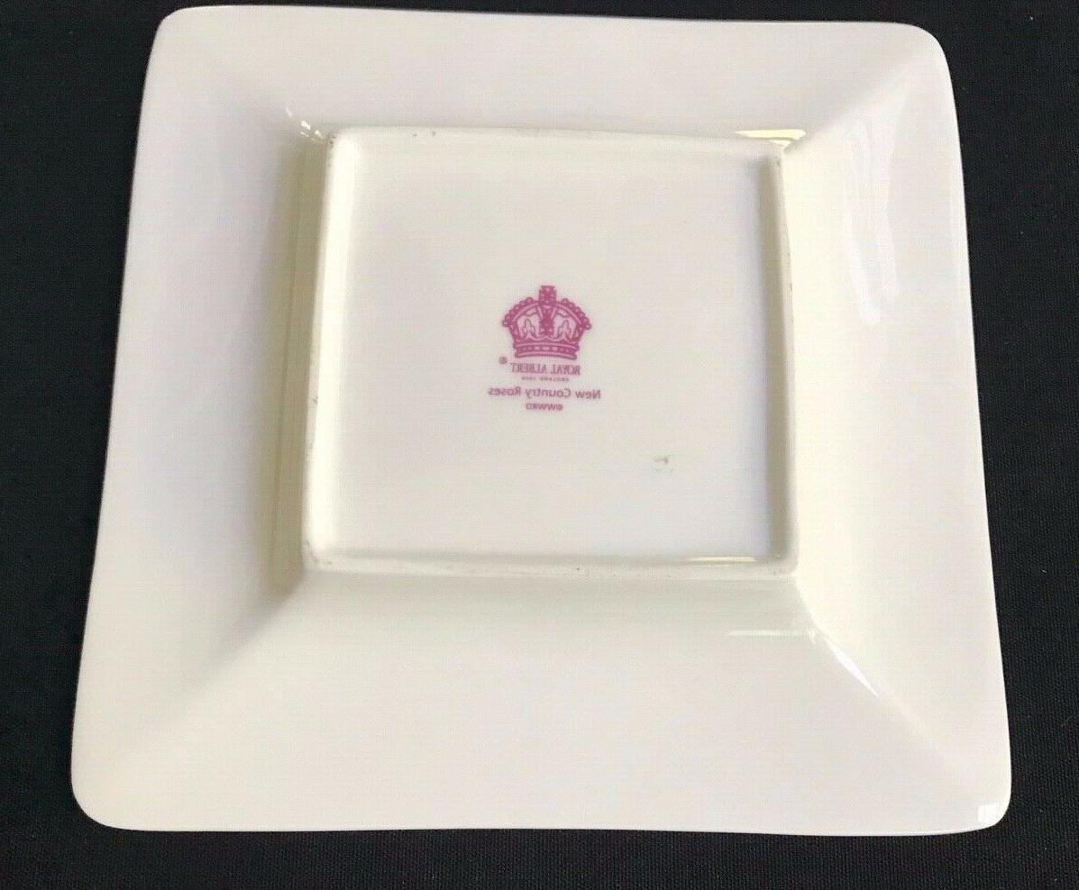 Royal Albert COUNTRY ROSE CHINTZ 4 Saucers