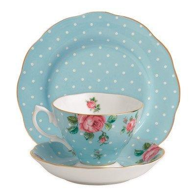 Royal Country Teacup, Saucer and Blue Royal
