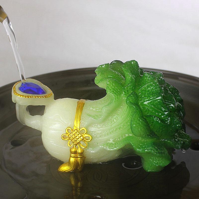 Creative Discoloration Pet Home Decoration <font><b>Tea</b></font> Ceremony <font><b>Ornaments</b></font> <font><b>Tea</b></font> Accessories Gifts
