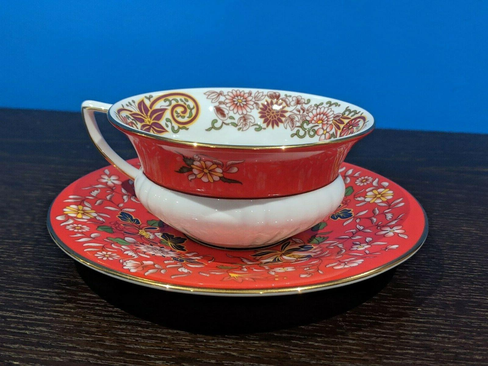 Wedgwood CRIMSON ORIENT Cup and -