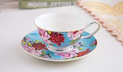 BTäT- Cups of Tea Tea Cups and Set, Set, Tea Cups, Tea for Tea Party, Teacups,