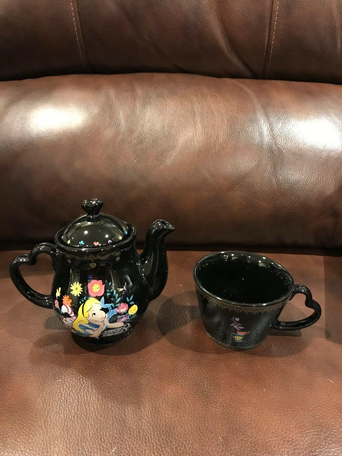 Disney Alice in Teapot Tea Set