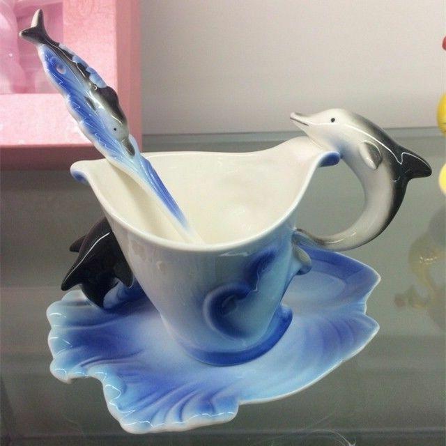Mug Spoon Office Tea Cup