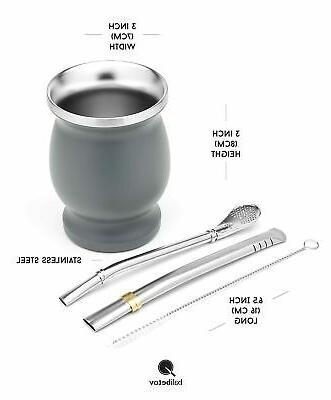 BALIBETOV Steel Yerba Mate Set Cup