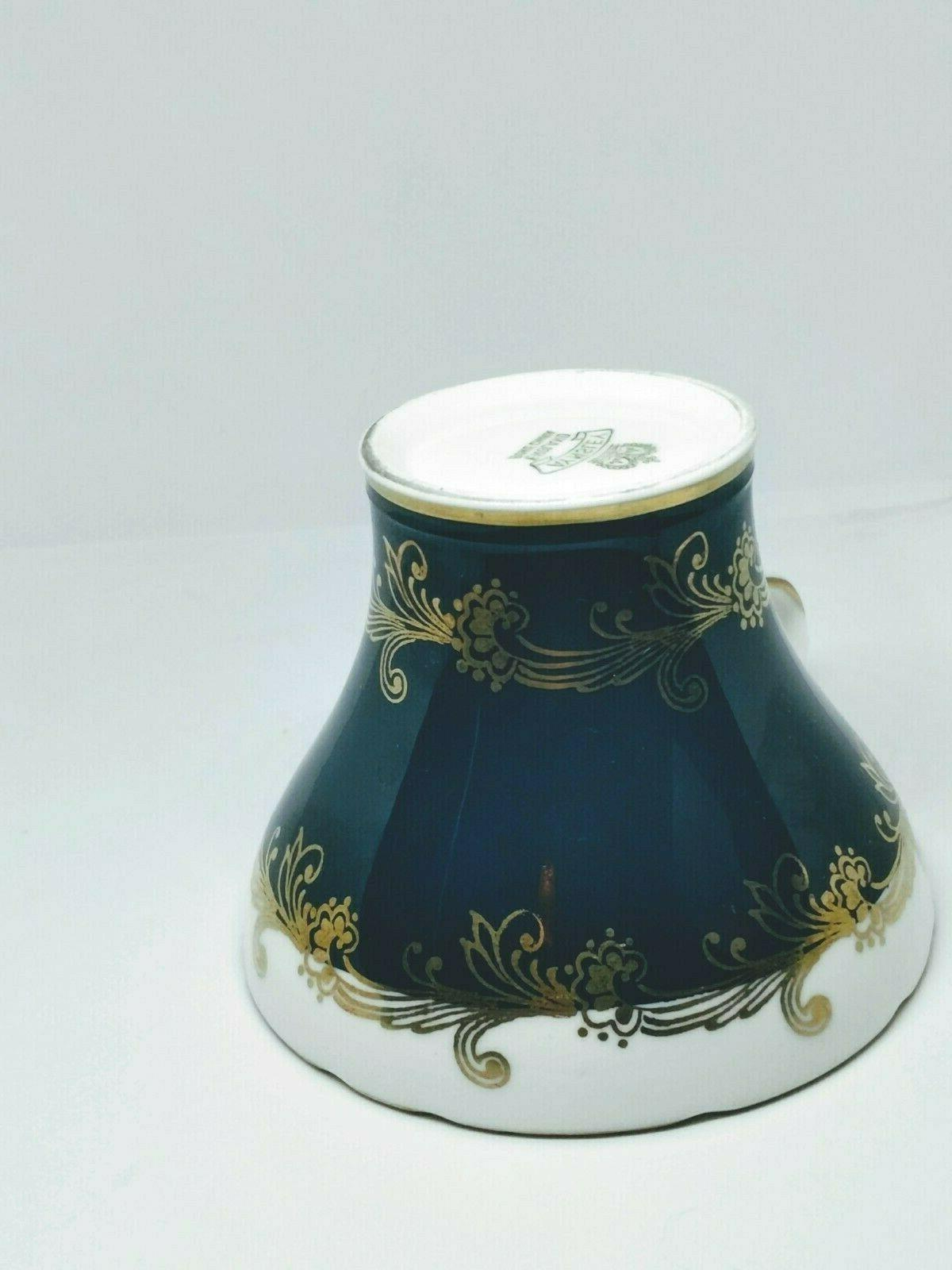 Aynsley England China Corset- Shaped & Saucer 1934