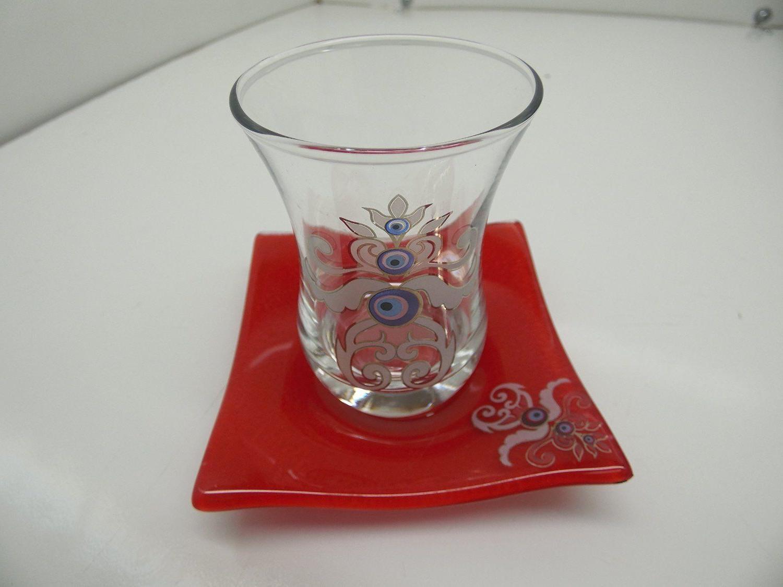 evil eye design tea set set of