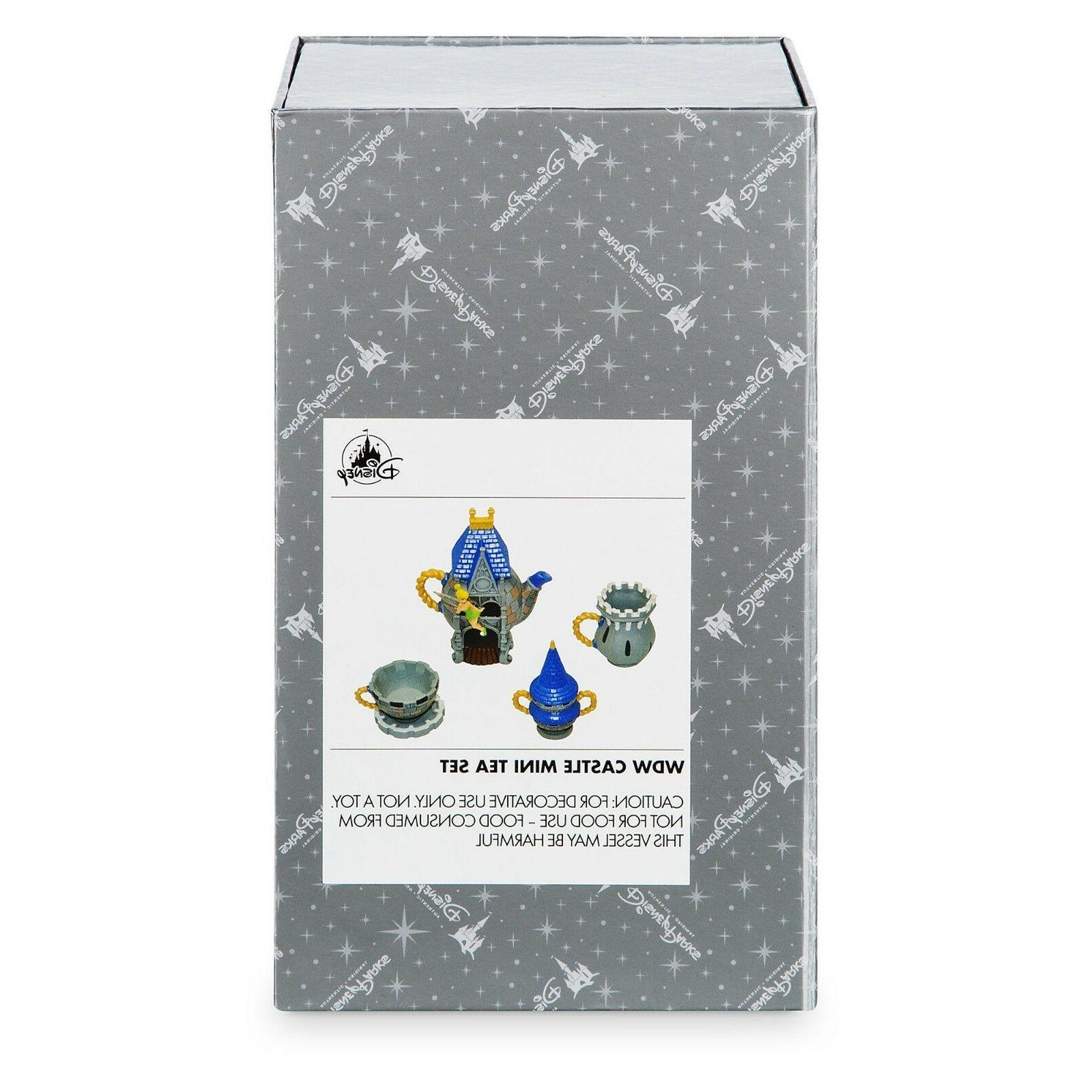 Disney Walt Disney World Castle Mini Tea Set NEW