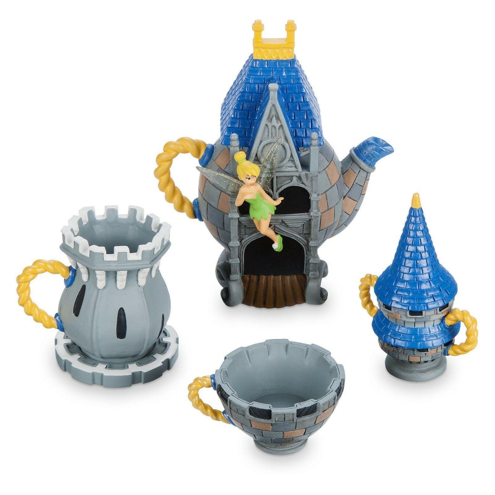 exclusive walt disney world castle mini tea
