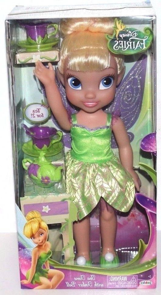 DISNEY FAIRIES TEA TIME WITH TINKER BELL DOLL SET