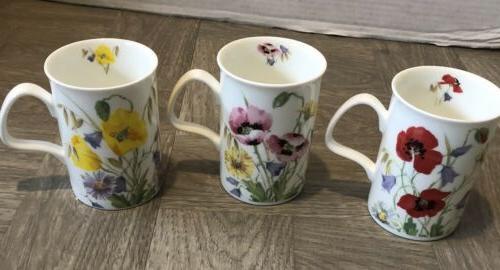 fine bone china tea coffee mugs floral