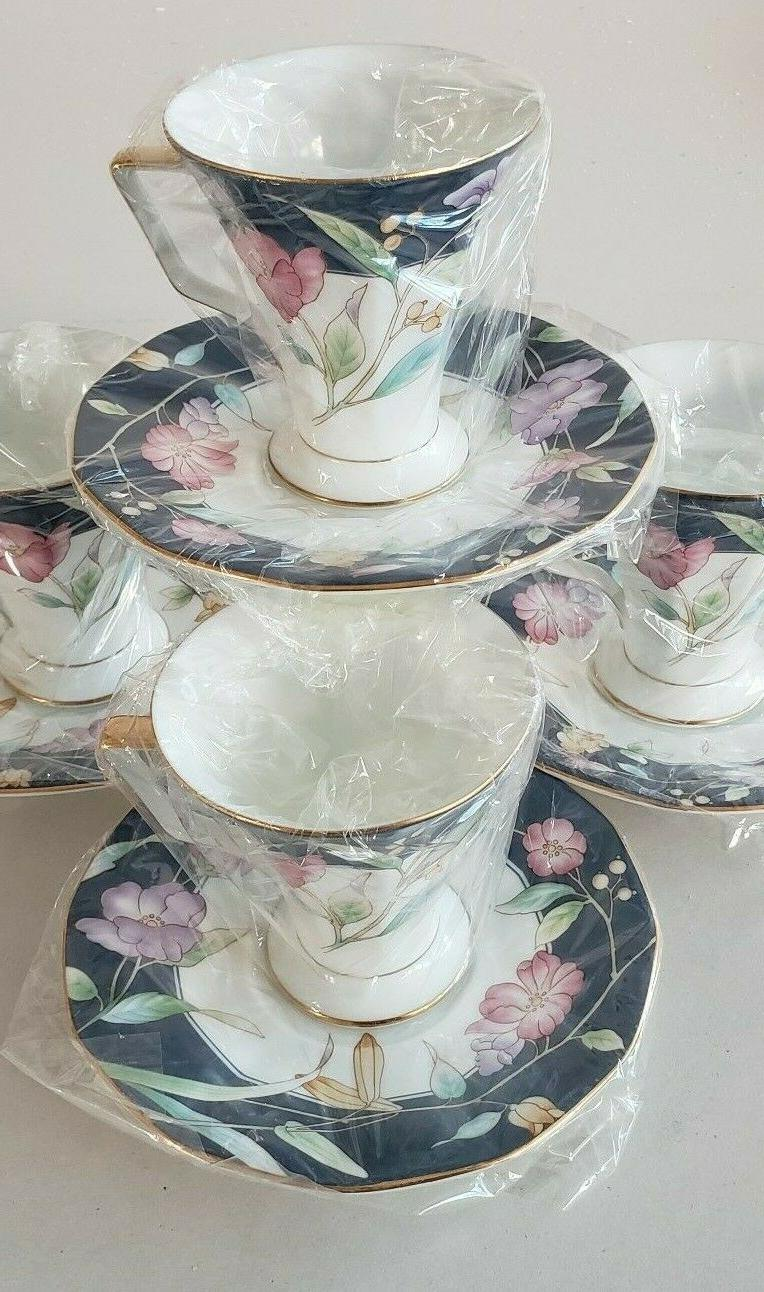 fine china tea coffee spring flowers 7oz