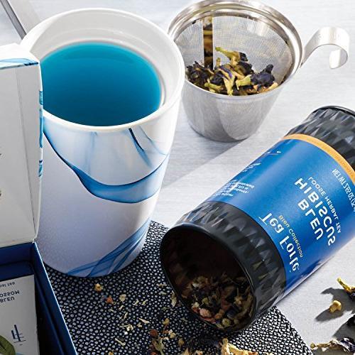 Tea Ceramic with and Lid Steeping, Leaf Tea Maker,