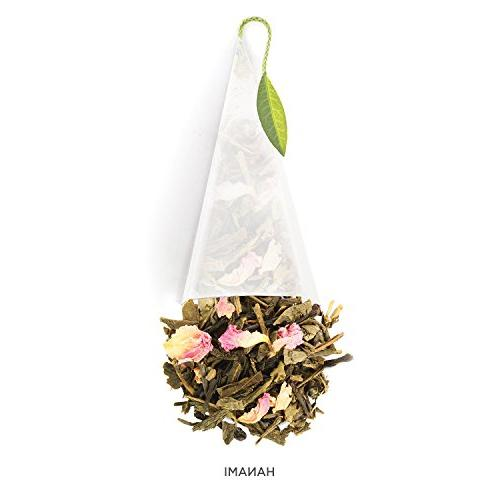 Tea Presentation Box Samplers, Variety Tea Box, 10 Handcrafted Tea Infusers
