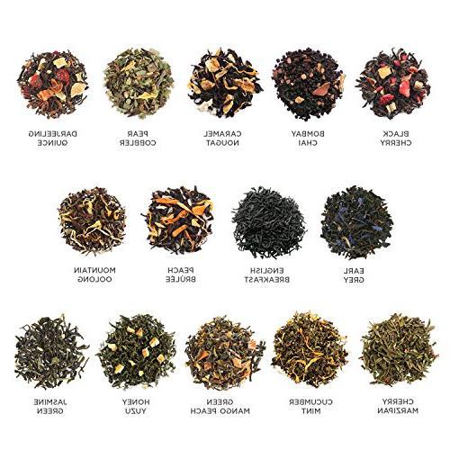 Tea SINGLE Loose Tea Variety Serve Tea, Green Tea,