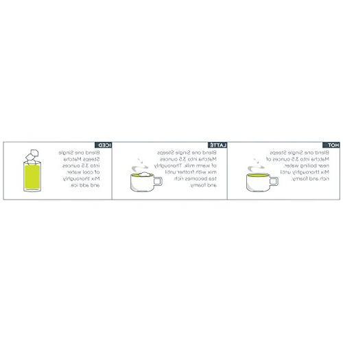 Tea Forté SINGLE Organic Powder Tea 15 Serve Pouches Tea