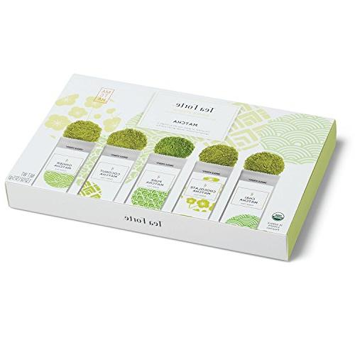 Tea Forté STEEPS Organic Tea Sampler, Serve Pouches