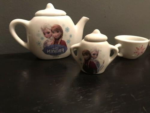 Disney Frozen Porcelain Tea Set Smoby Kids 12 ADORABLE