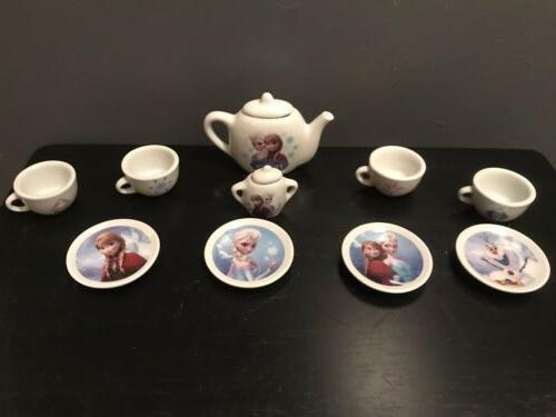 Disney Frozen Porcelain Set Smoby Kids Tea 12 ADORABLE