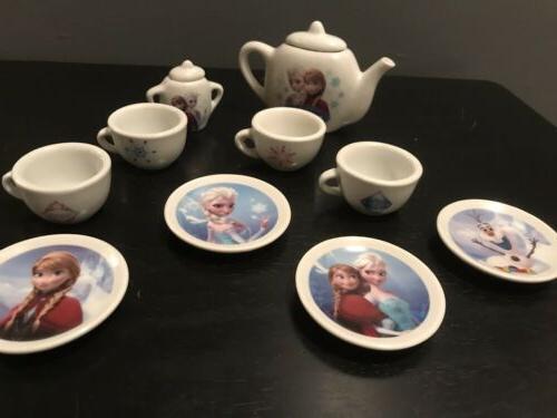 Disney Frozen Porcelain Kids Tea Set 12
