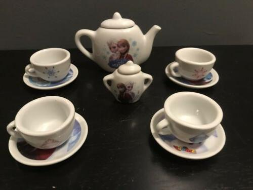 frozen tea set porcelain tea set smoby