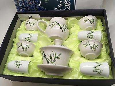 """Music Tea Pure White a Bamboo Gift Box. ..."