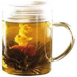 Glass Tea Maker with Loose Tea Infuser