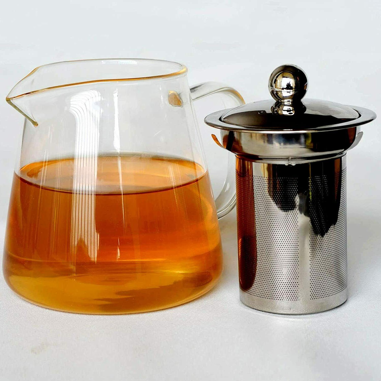Glass steel Infuser Kettle Tea Pot